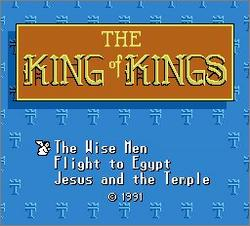 Pantallazo de King of Kings: The Early Years para Nintendo (NES)