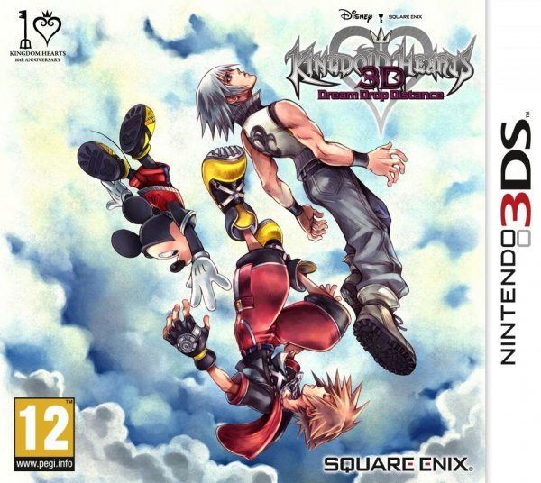 Caratula de Kingdom Hearts 3D: Dream Drop Distance para Nintendo 3DS