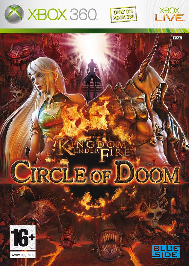 Caratula de Kingdom Under Fire: Circle of Doom para Xbox 360