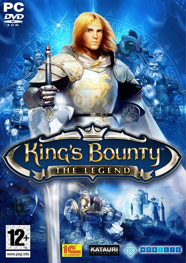 Caratula de King's Bounty: The Legend para PC