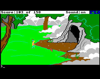 Pantallazo de King's Quest: Quest For The Crown para Amiga