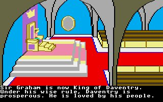 Pantallazo de King's Quest II: Romancing The Throne para Atari ST