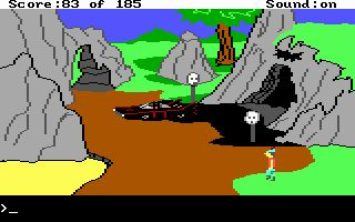 Pantallazo de King's Quest II: Romancing The Throne para PC