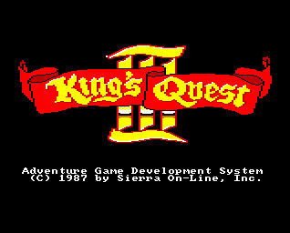 Pantallazo de King's Quest III: To Heir Is Human para Amiga