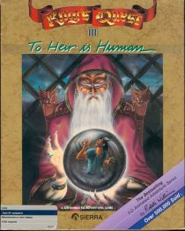 Caratula de King's Quest III: To Heir is Human para Atari ST