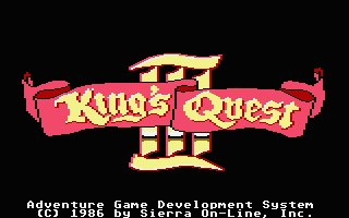 Pantallazo de King's Quest III: To Heir is Human para Atari ST