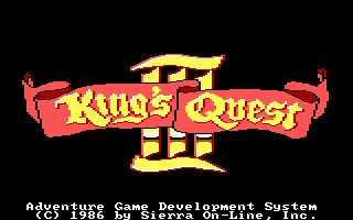 Pantallazo de King's Quest III: To Heir is Human para PC