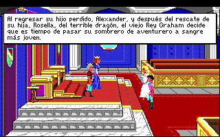 Pantallazo de King's Quest IV: The Perils of Rosella (Traducido) para PC