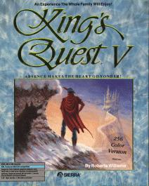 Caratula de King's Quest V: Absence Makes The Heart Go Yonder! para PC