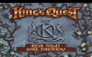 Pantallazo de King's Quest VI: Heir Today, Gone Tomorrow CD-ROM para PC