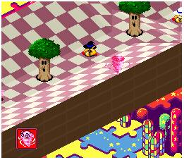 Pantallazo de Kirby's Dream Course (Consola Virtual) para Wii
