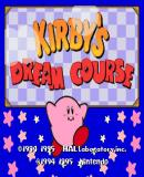 Caratula nº 123407 de Kirby's Dream Course (Consola Virtual) (512 x 444)