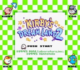 Caratula de Kirby's Dream Land 2 para Game Boy
