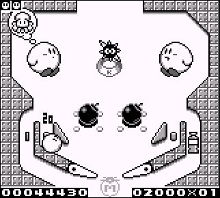 Caratula de Kirby's Pinball Land para Game Boy