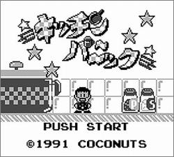 Pantallazo de Kitchen Panic para Game Boy