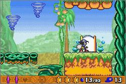 Pantallazo de Klonoa 2: Dream Champ Tournament para Game Boy Advance