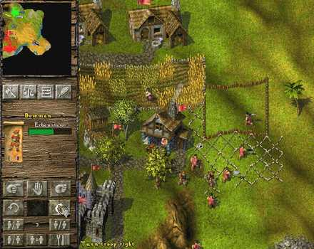 Pantallazo de Knights and Merchants: The Peasants' Rebellion para PC