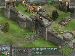 Pantallazo de Knights of Honor para PC