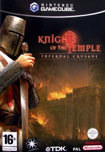 Caratula de Knights of the Temple para GameCube