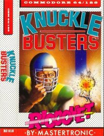 Caratula de Knuckle Busters para Commodore 64