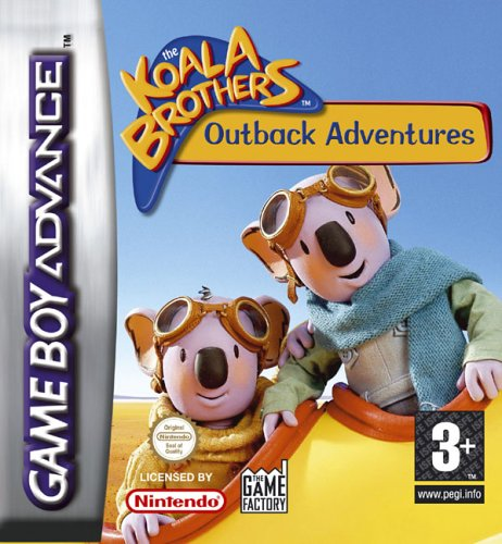 Caratula de Koala Brothers: Outback Adventure, The para Game Boy Advance
