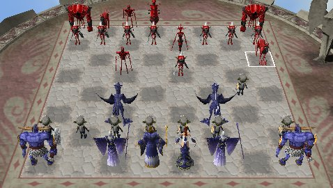Pantallazo de Konami Chess Battle para PSP