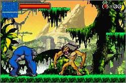 Pantallazo de Kong: The Animated Series para Game Boy Advance
