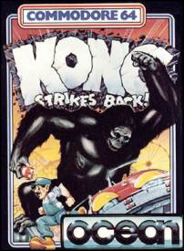 Caratula de Kong Strikes Back para Commodore 64