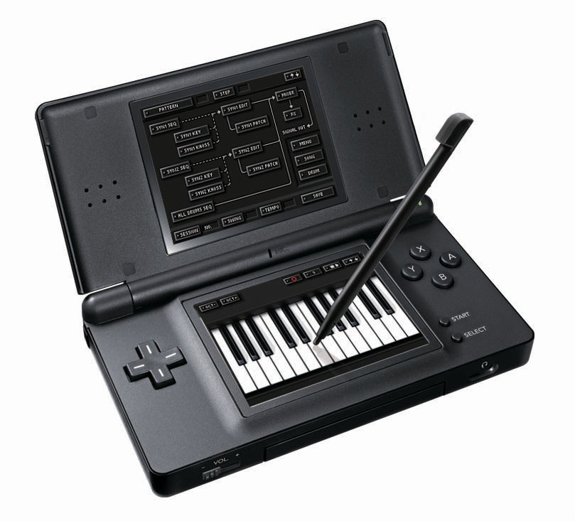 Pantallazo de Korg DS-10 Synthesizer para Nintendo DS