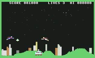 Pantallazo de Krypton para Commodore 64