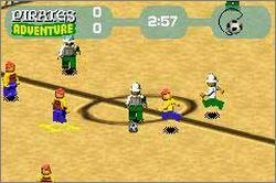 Pantallazo de LEGO: Soccer Mania para Game Boy Advance