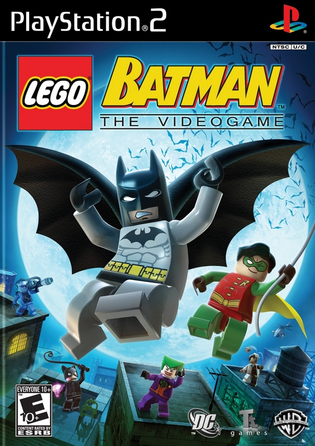 Caratula de LEGO Batman para PlayStation 2