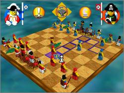 Pantallazo de LEGO Chess para PC