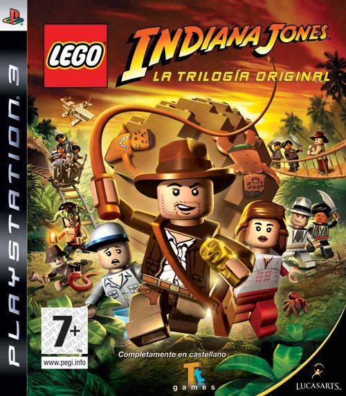 Caratula de LEGO Indiana Jones: La trilogía original para PlayStation 3
