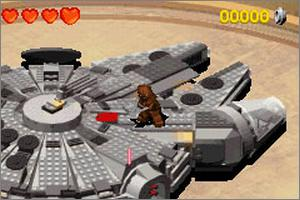 Pantallazo de LEGO Star Wars II: The Original Trilogy para Game Boy Advance
