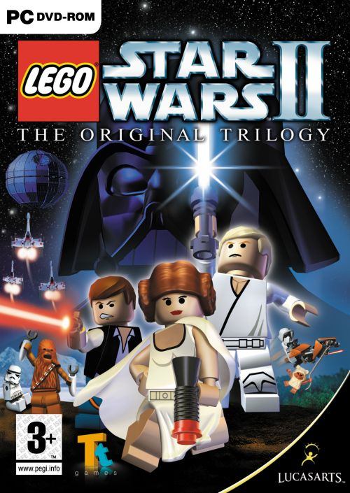 Caratula de LEGO Star Wars II: The Original Trilogy para PC