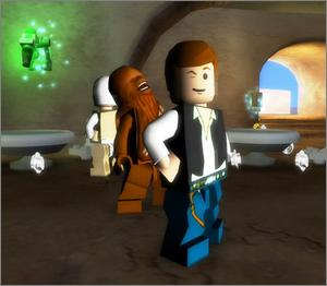 Pantallazo de LEGO Star Wars II: The Original Trilogy para Xbox