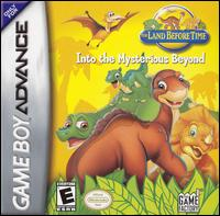 Caratula de Land Before Time: Into the Mysterious Beyond, The para Game Boy Advance