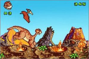 Pantallazo de Land Before Time: Into the Mysterious Beyond, The para Game Boy Advance