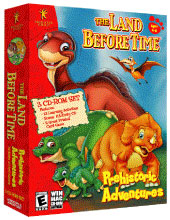 Caratula de Land Before Time: Prehistoric Adventure, The para PC