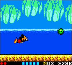 Pantallazo de Land of Illusion Starring Mickey Mouse para Gamegear