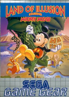 Caratula de Land of Illusion Starring Mickey Mouse para Gamegear