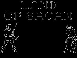 Pantallazo de Land of Sagan para Spectrum