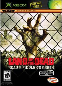 Caratula de Land of the Dead: Road to Fiddler's Green para Xbox