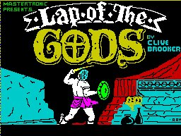 Pantallazo de Lap of the Gods para Spectrum