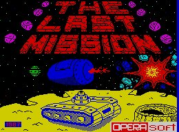 Pantallazo de Last Mission, The para Spectrum