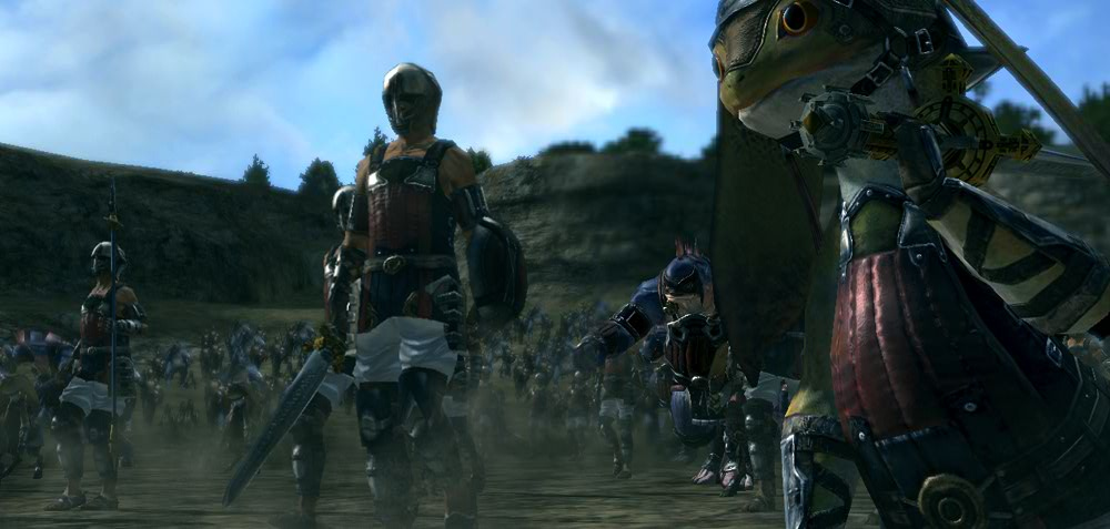 Pantallazo de Last Remnant, The para PlayStation 3