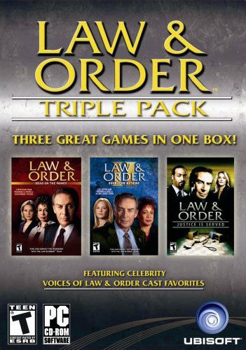 Caratula de Law & Order Triple Pack para PC