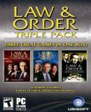 Caratula nº 73340 de Law & Order Triple Pack (351 x 500)