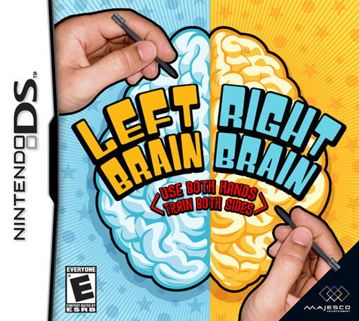 Caratula de Left Brain Right Brain para Nintendo DS